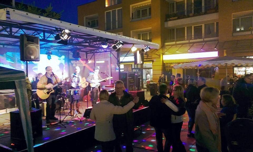 Tanz beim Winzerfest