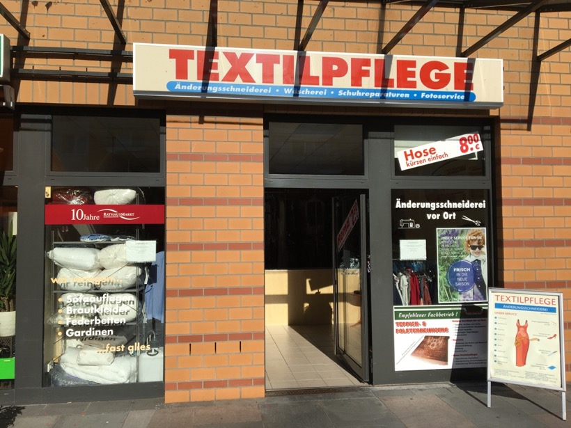 Textil und Schuhpflege