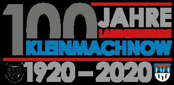 Logo 100 Jahre Kleinmachnow