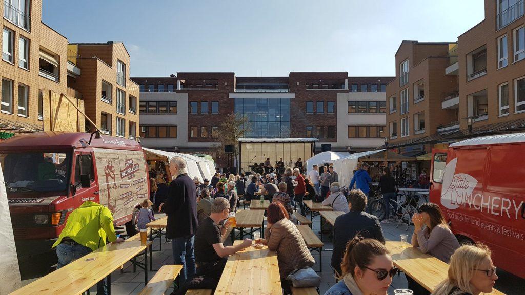 Craft Beer meets Street Food auf dem Rathausmarkt