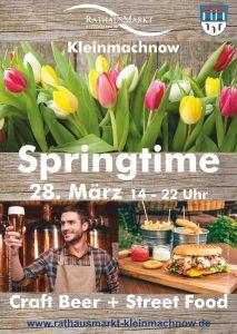 Das Frühlingsfest auf dem Rathausmarkt