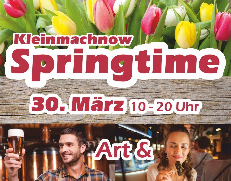 Plakat Kleinmachnow Springtime